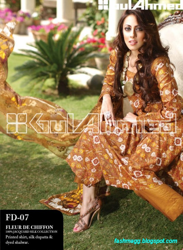 Gul-Ahmed-Lawn-Summer-Spring-New-Fashionable-Dress-Designs-Collection-2013-5