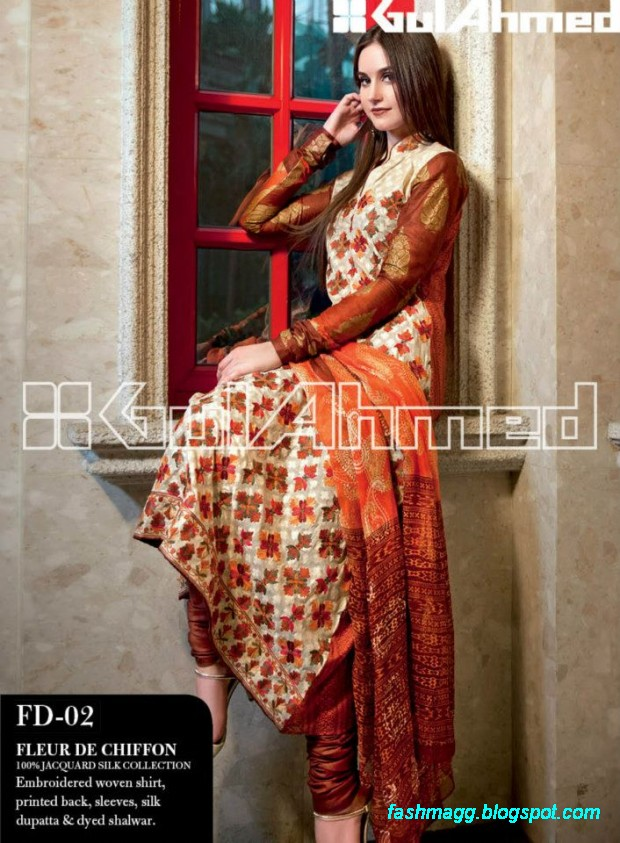 Gul-Ahmed-Lawn-Summer-Spring-New-Fashionable-Dress-Designs-Collection-2013-8