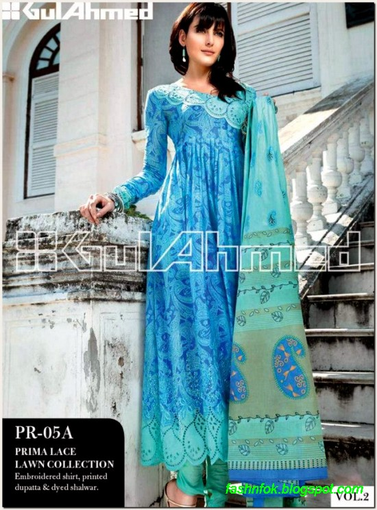Gul-Ahmed-Lawn-Vol-2-Spring-Summer-New-Fashionabe-Clothes-Dress-Designs-Collection-2013-10
