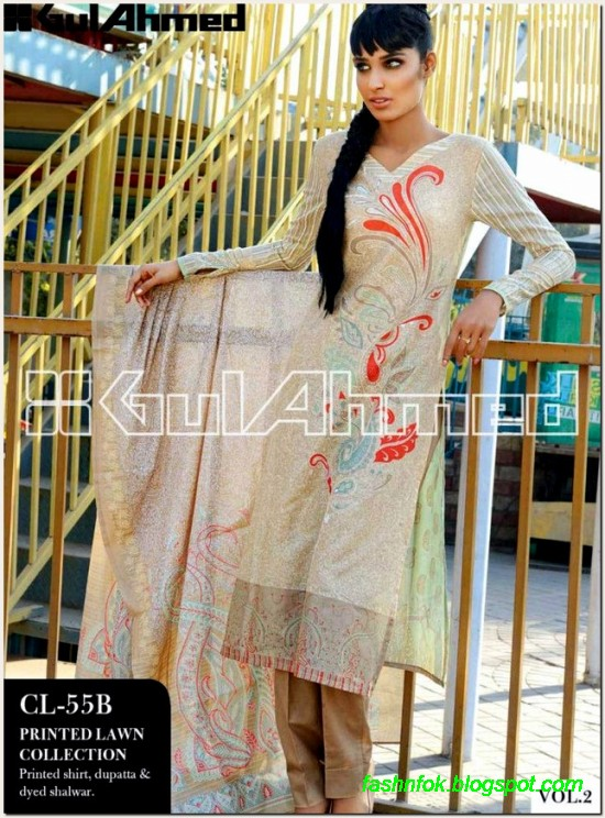 Gul-Ahmed-Lawn-Vol-2-Spring-Summer-New-Fashionabe-Clothes-Dress-Designs-Collection-2013-11