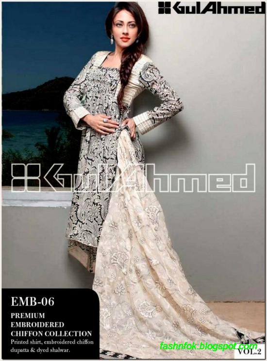 Gul-Ahmed-Lawn-Vol-2-Spring-Summer-New-Fashionabe-Clothes-Dress-Designs-Collection-2013-13