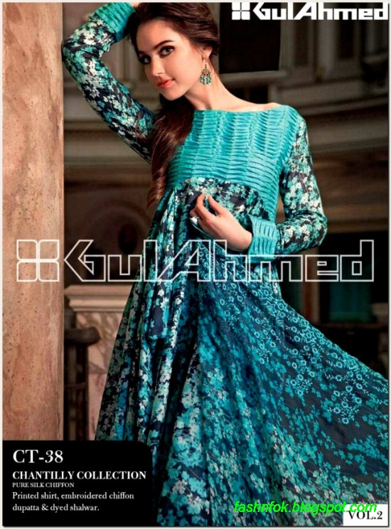 Gul-Ahmed-Lawn-Vol-2-Spring-Summer-New-Fashionabe-Clothes-Dress-Designs-Collection-2013-14