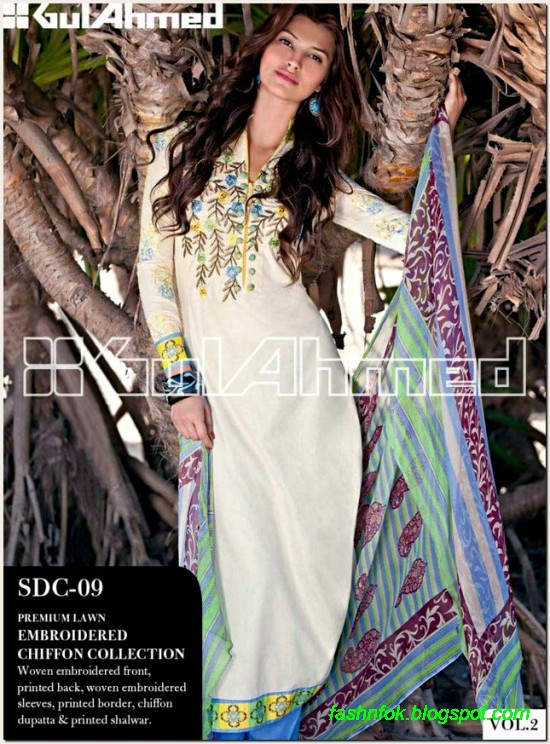 Gul-Ahmed-Lawn-Vol-2-Spring-Summer-New-Fashionabe-Clothes-Dress-Designs-Collection-2013-2