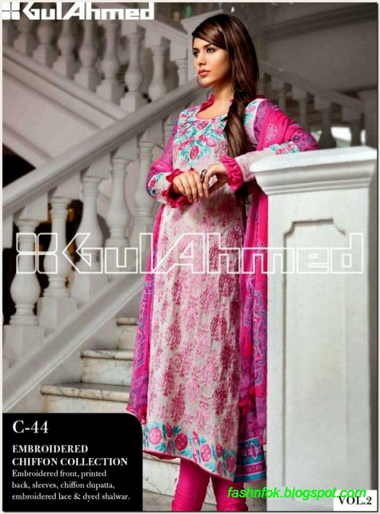 Gul-Ahmed-Lawn-Vol-2-Spring-Summer-New-Fashionabe-Clothes-Dress-Designs-Collection-2013-9