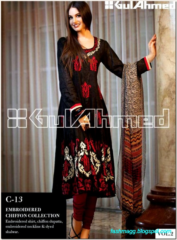 Gul-Ahmed-Lawn-Vol-2-Spring-Summer-New-Fashionabe-Dress-Designs-Collection-2013-10