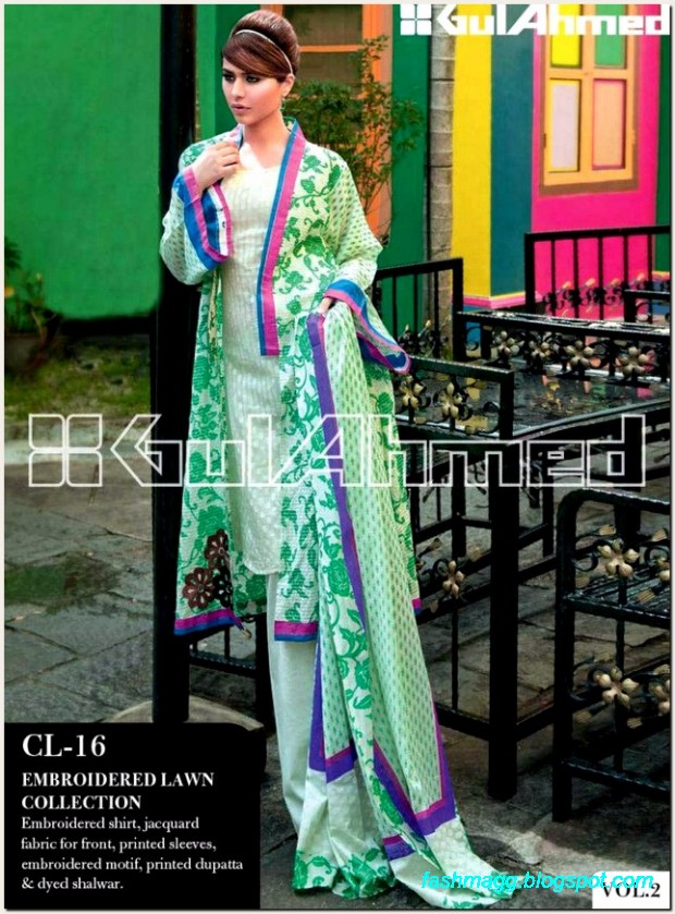 Gul-Ahmed-Lawn-Vol-2-Spring-Summer-New-Fashionabe-Dress-Designs-Collection-2013-12