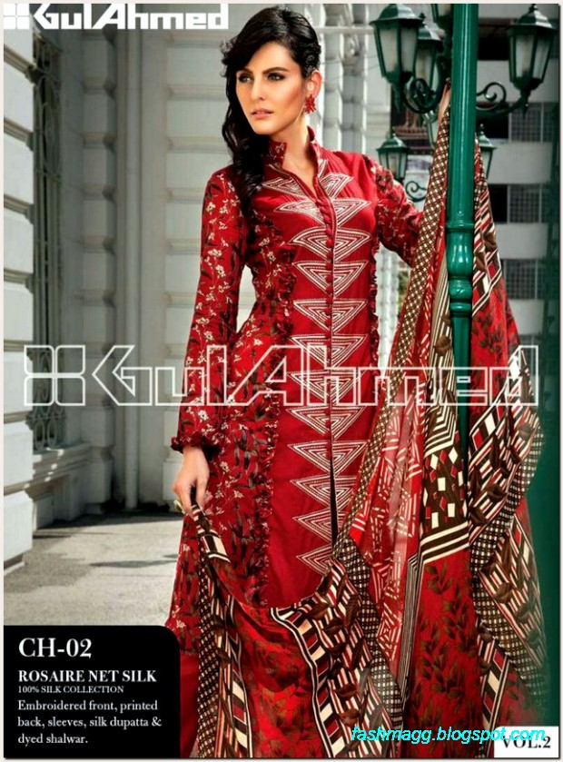 Gul-Ahmed-Lawn-Vol-2-Spring-Summer-New-Fashionabe-Dress-Designs-Collection-2013-13