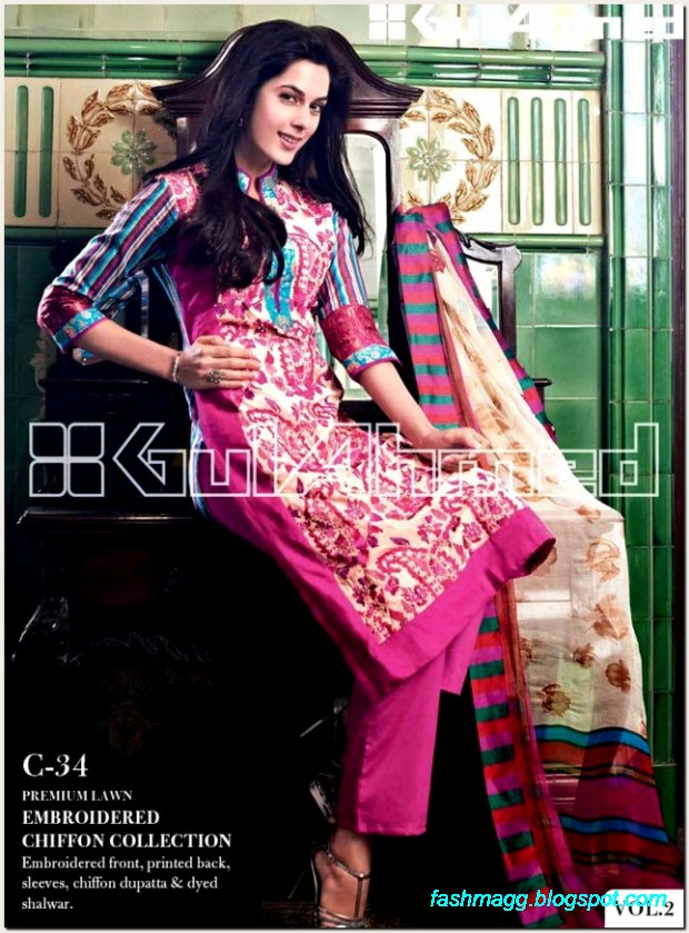Gul-Ahmed-Lawn-Vol-2-Spring-Summer-New-Fashionabe-Dress-Designs-Collection-2013-15