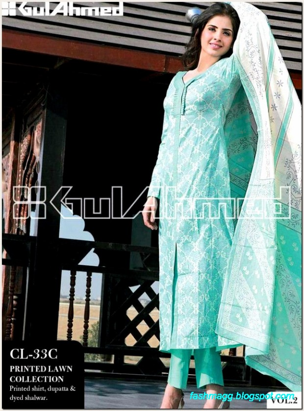 Gul-Ahmed-Lawn-Vol-2-Spring-Summer-New-Fashionabe-Dress-Designs-Collection-2013-4