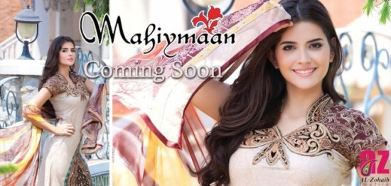 Mahiymaan-Lawn-Collection-2013-By-Al-Zohaib-Textiles-New-Latest-Fashionable-Clothes-1
