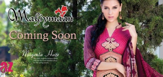 Mahiymaan-Lawn-Collection-2013-By-Al-Zohaib-Textiles-New-Latest-Fashionable-Clothes-2