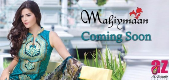 Mahiymaan-Lawn-Collection-2013-By-Al-Zohaib-Textiles-New-Latest-Fashionable-Clothes-4