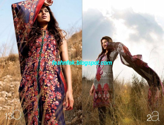 Sana-Safinaz-Lawn-Spring-Summer-Collection-2013-New-Fashinable-Clothes-Dress-Designs-10