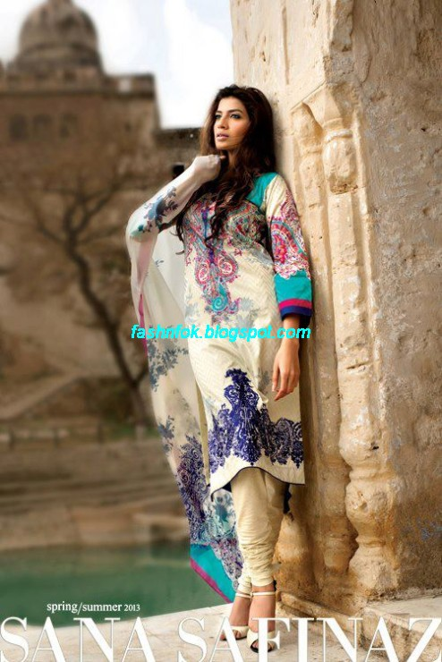 Sana-Safinaz-Lawn-Spring-Summer-Collection-2013-New-Fashinable-Clothes-Dress-Designs-17