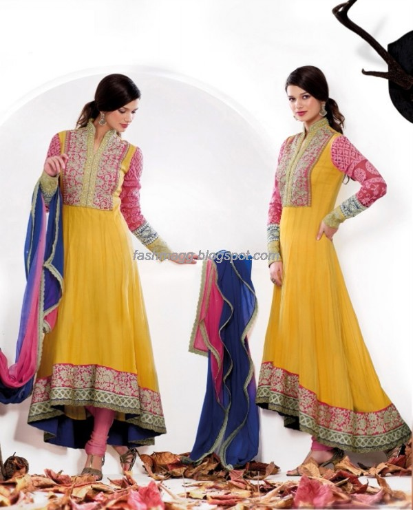 Anarkali-Churidar-festival-Frocks-Fancy-Dress-Designs-New-Fashionable-Clothes-