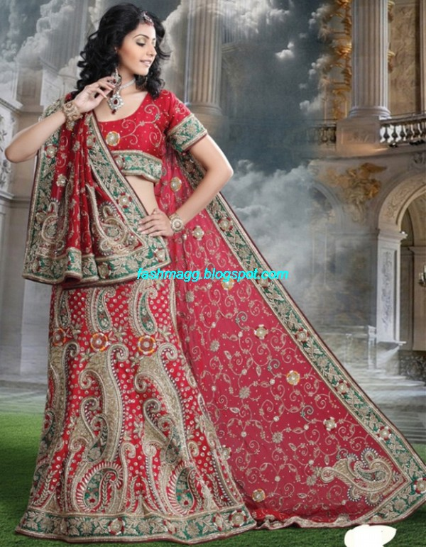 Indian-Beautiful-Bridal-Lehenga-Choli-Dress-for-Brides-Wear-New-Fashionable-Dress-Design-2013-4