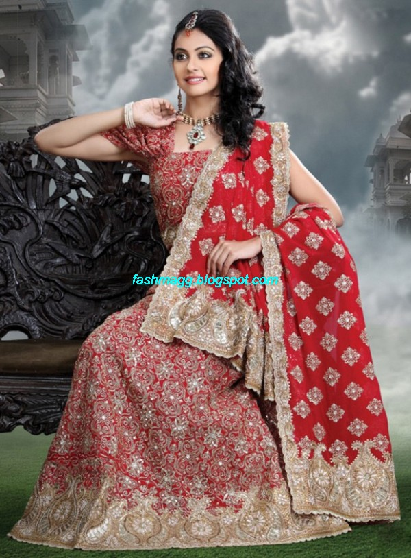 Indian-Beautiful-Bridal-Lehenga-Choli-Dress-for-Brides-Wear-New-Fashionable-Dress-Design-2013-5