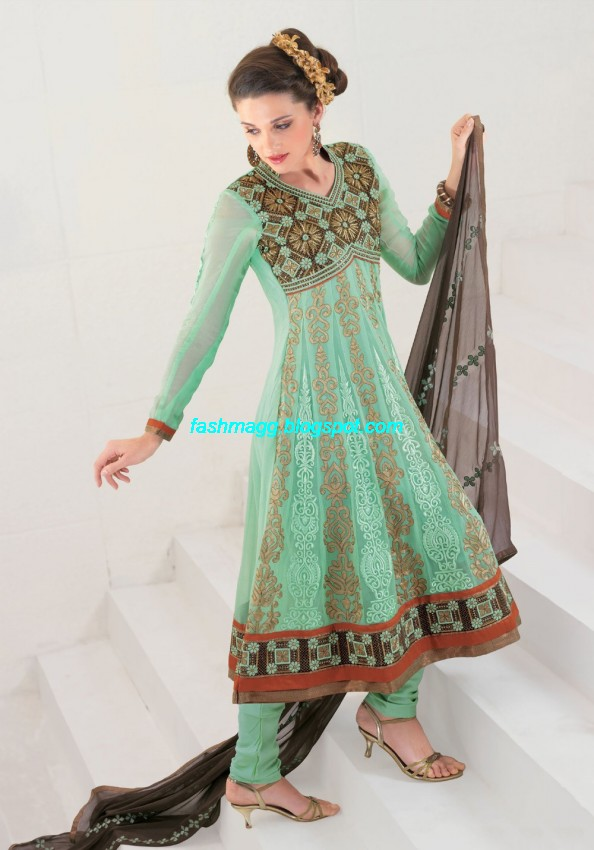 Anarkali-Fancy-Bridal-Wear-Frocks-Anarkali- Embroidered-Wedding-Frock-New-Fashionable-Dress-