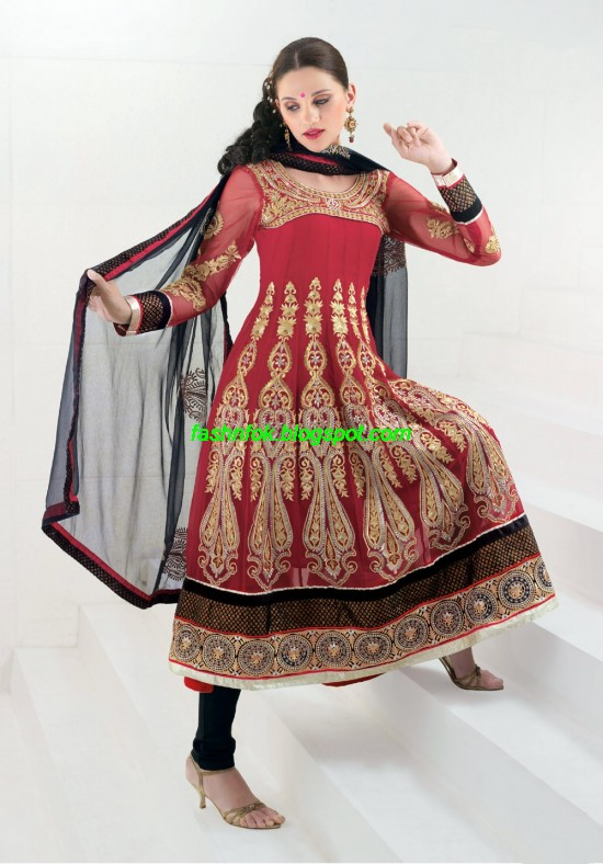 Indian-Anarkali-Umbrella-Frocks-2013-Anarkali-Churidar-Salwar-Kameez-New-Fashionable-Clothes-8