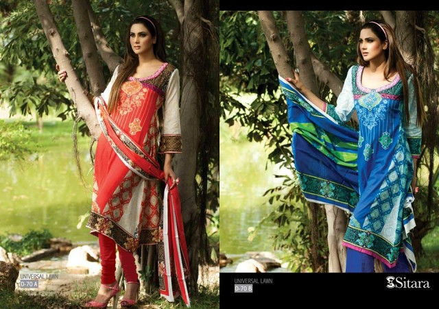 Sitara-Universal-Exclusive-Summer-Latha-Lawn-Collection-2013-Vol2-Famous-Actress-Model-Fiza-Ali-11