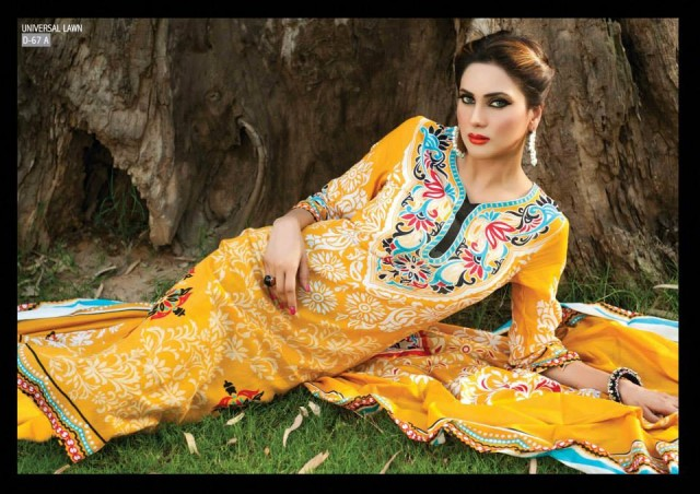 Sitara-Universal-Exclusive-Summer-Latha-Lawn-Collection-2013-Vol2-Famous-Actress-Model-Fiza-Ali-5