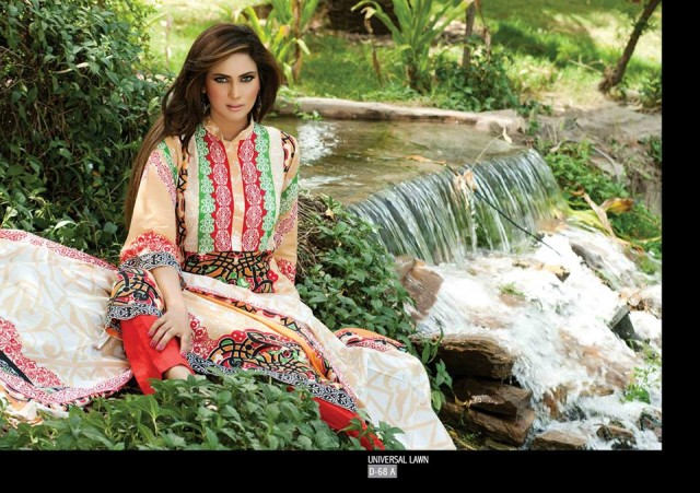 Sitara-Universal-Exclusive-Summer-Latha-Lawn-Collection-2013-Vol2-Famous-Actress-Model-Fiza-Ali-9