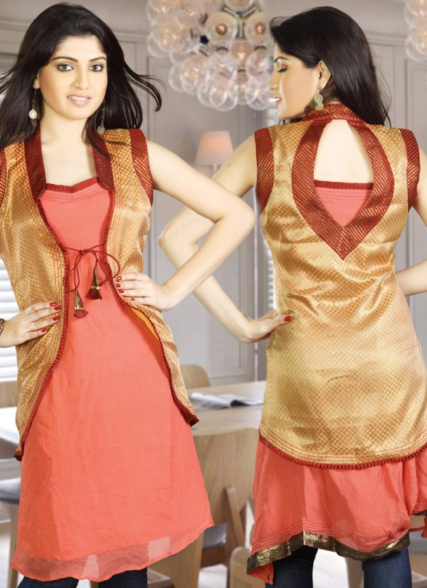 dee0cdf326e2 Womens-Girls Summer Kurti-Kurta with Tights and Jeans Eid Dress ...
