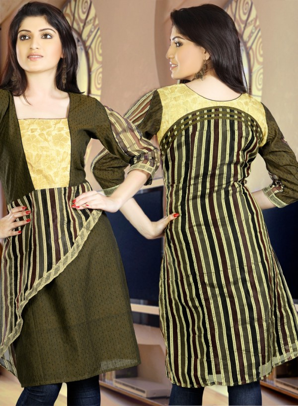 Womens-Girls-Summer-Kurti-Kurta-with-Tights-Jeans-Collection-2013-New-Fashionable-Dress-7