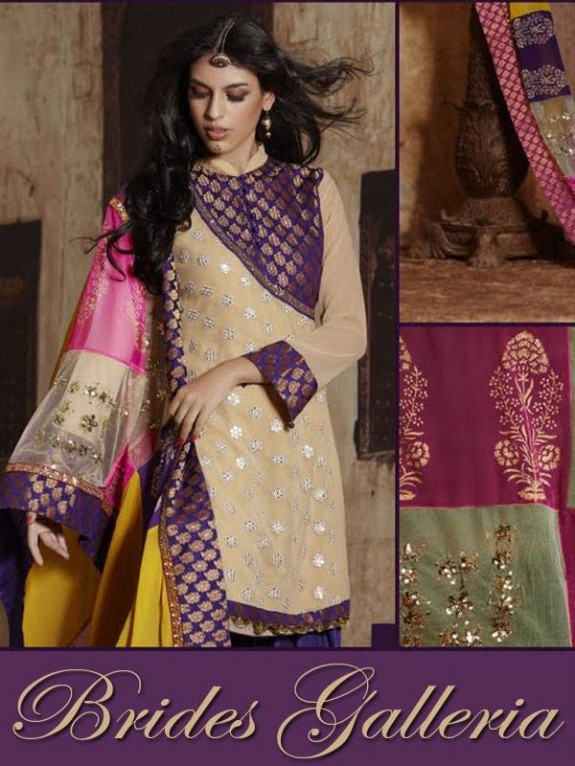 Brides Galleria Latest New Punjabi Suits Fashionable Collection for Girls-Womens Wear Dress13