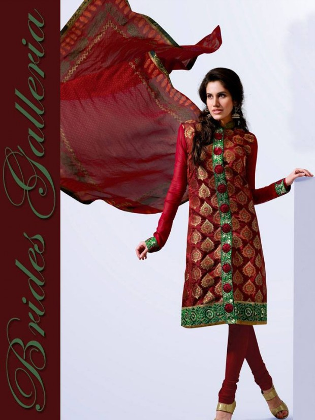 Brides Galleria Latest New Punjabi Suits Fashionable Collection for Girls-Womens Wear Dress5