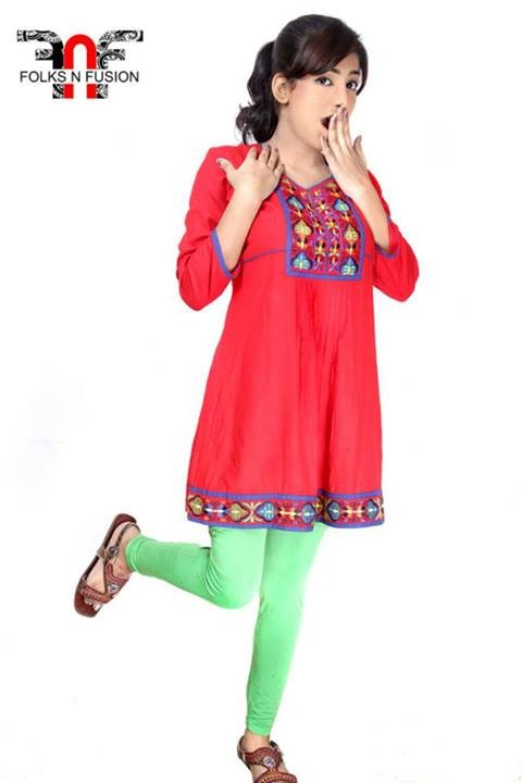 Folks N Fusion Tops-Kurti and Tights Fashion for Girls-Womens9