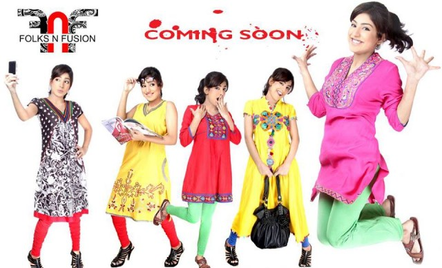 Girls-Womens-Ladies-Tops-Kurti-and-Tights-Fashion-for-Eid-by-Folks-N-Fusion-