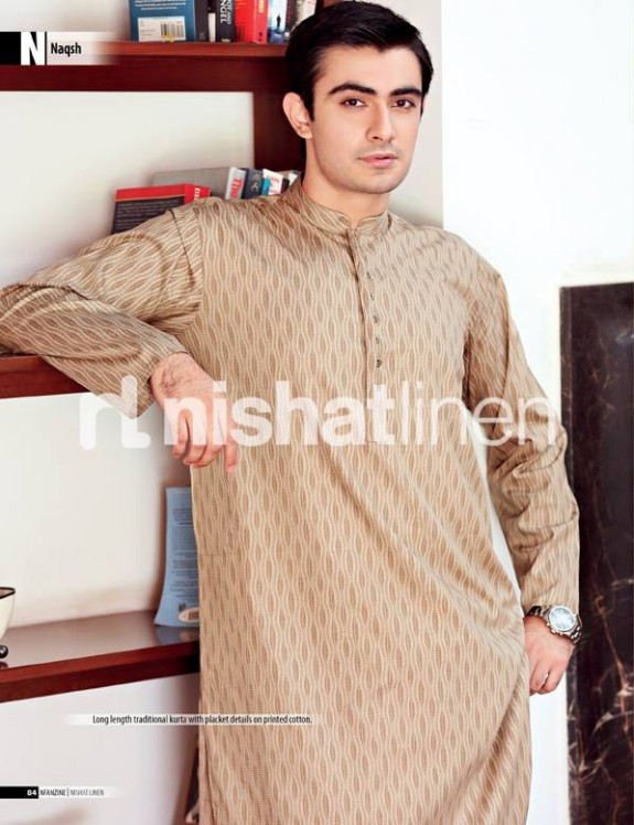 Naqsh-by-Nishat-Linen-Mens-Male-Wear-Kurta-Pajama-Shalwar-Kameez-Eid-Collection-2013-2