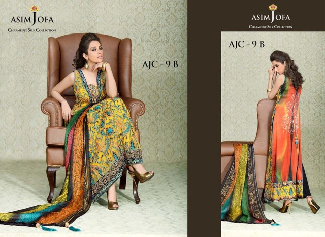 Asim-Jofa-Charmeuse-Beautiful-Silk-Eid-Fashionable-Dress-2013-For-Women-Girls-