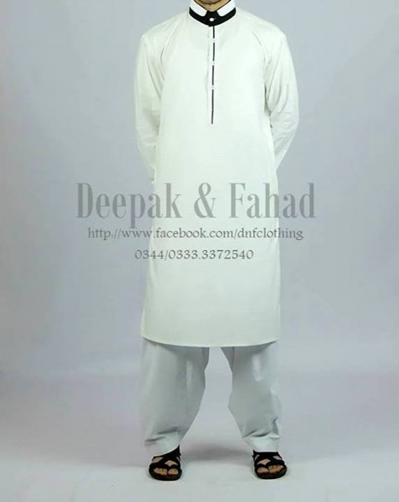Mens-Boy-New-Summer-Eid-Dress-Kurta-Kamiz-Salwar-Pajama-2013-by-Deepak-Fahad-11