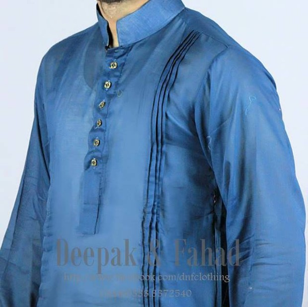 Mens-Boy-New-Summer-Eid-Dress-Kurta-Kamiz-Salwar-Pajama-2013-by-Deepak-Fahad-3