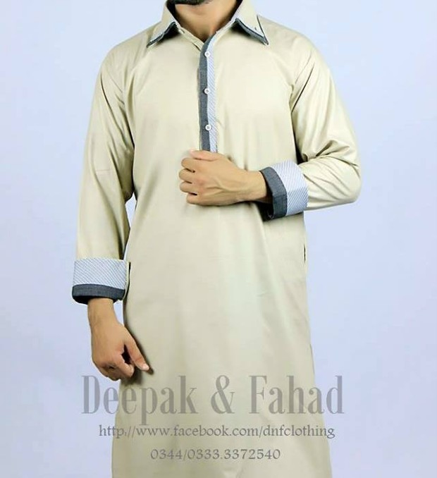 Mens-Boy-New-Summer-Eid-Dress-Kurta-Kamiz-Salwar-Pajama-2013-by-Deepak-Fahad-6