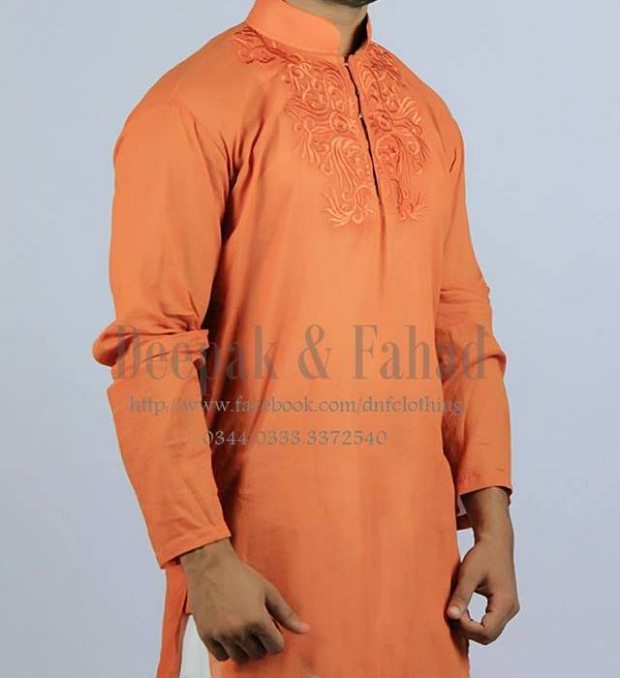 Mens-Boy-New-Summer-Eid-Dress-Kurta-Kamiz-Salwar-Pajama-2013-by-Deepak-Fahad-