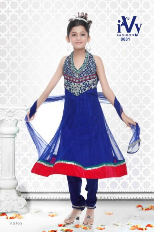 Trade-india-Summer-Anarkali-Beautiful-Cute-Eid-Dresses-2013-For-Kids-Childrens-14