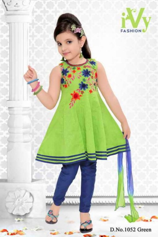 Trade-india-Summer-Anarkali-Beautiful-Cute-Eid-Dresses-2013-For-Kids-Childrens-2