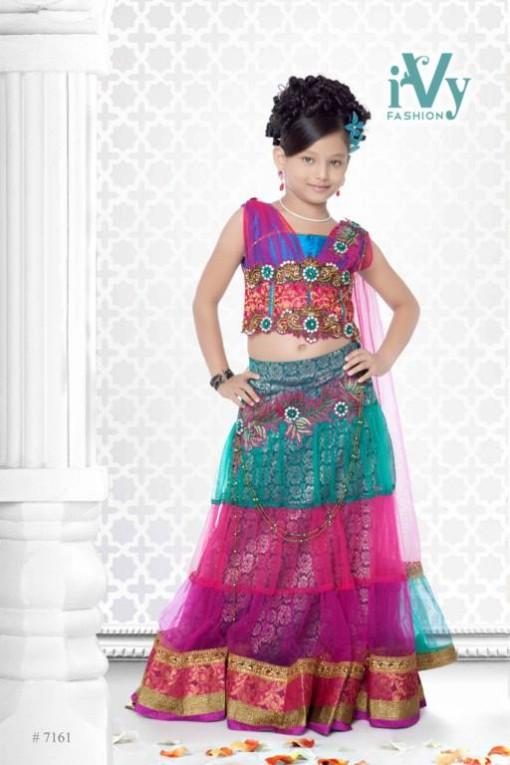 bd6e1cc275f4 Fashion Fok  Trade India Beautiful Anarkali Kids Wear Summer Frocks ...