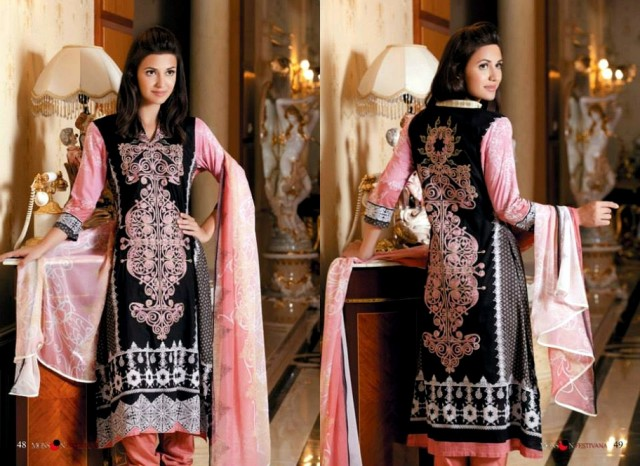 Womens-Girls-New-Summer-Eid-Suits-Collection-2013-by-Al-Zohaib-Textile-18