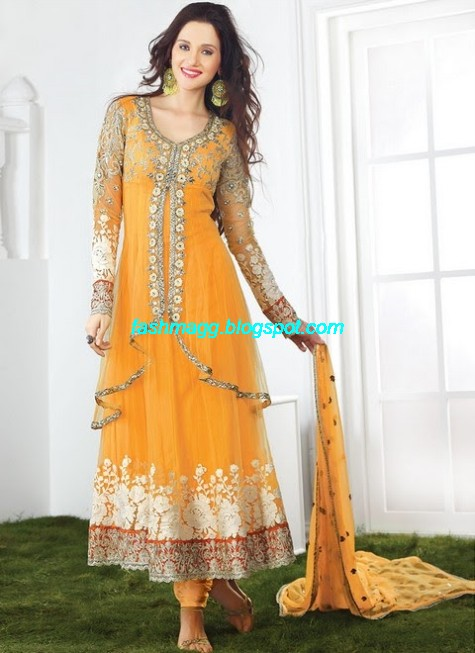 Anarkali-Bridal-Wedding-Dress-Collection 2013-Beautiful-Best-Anarkali-Clothes-Online-Stores-1