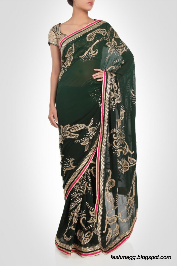 Beautiful-Elegent-New-Indian-Silk-Embroidered-Saree-Design-2013-for-Girls-13