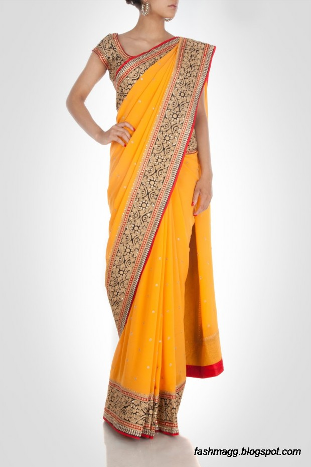 Beautiful-Elegent-New-Indian-Silk-Embroidered-Saree-Design-2013-for-Girls-4