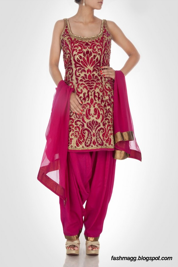 Beautiful-Elegent-New-Indian-Silk-Embroidered-Saree-Design-2013-for-Girls-7