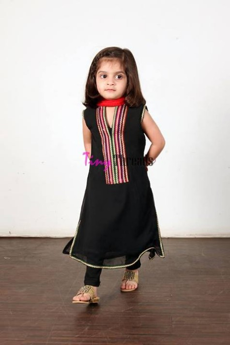 Tiny Threads New Mid Summer Dress Collection 2013 2014 For