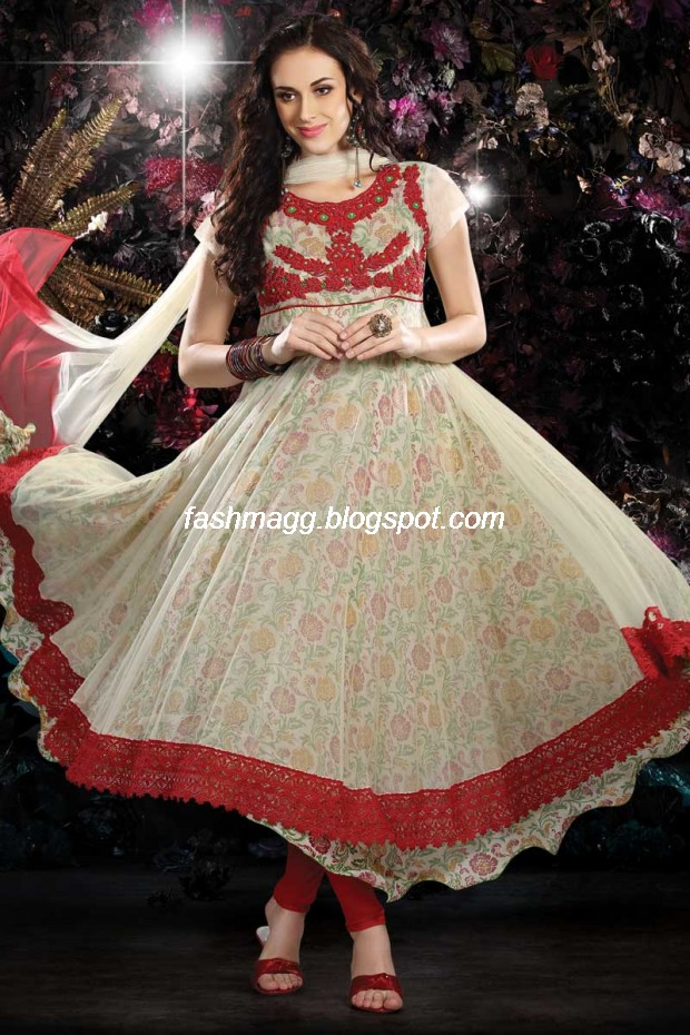Indian Anarkali Traditional Frock Design-Anarkali Fancy Silk Embroidered New Fashion Dress13