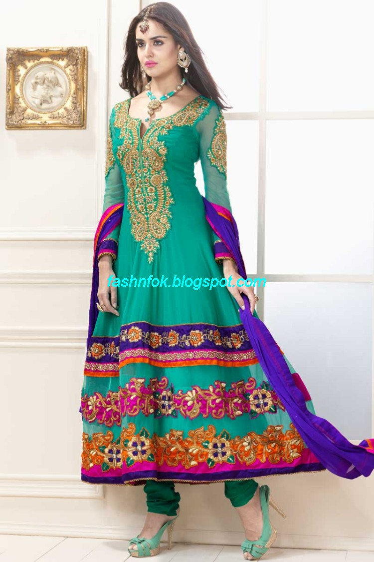 Anarkali-Umbrella-Wedding-Brides-Fancy-Party-Wear-Frocks-2013-Latest-Fashionable-Clothes-1