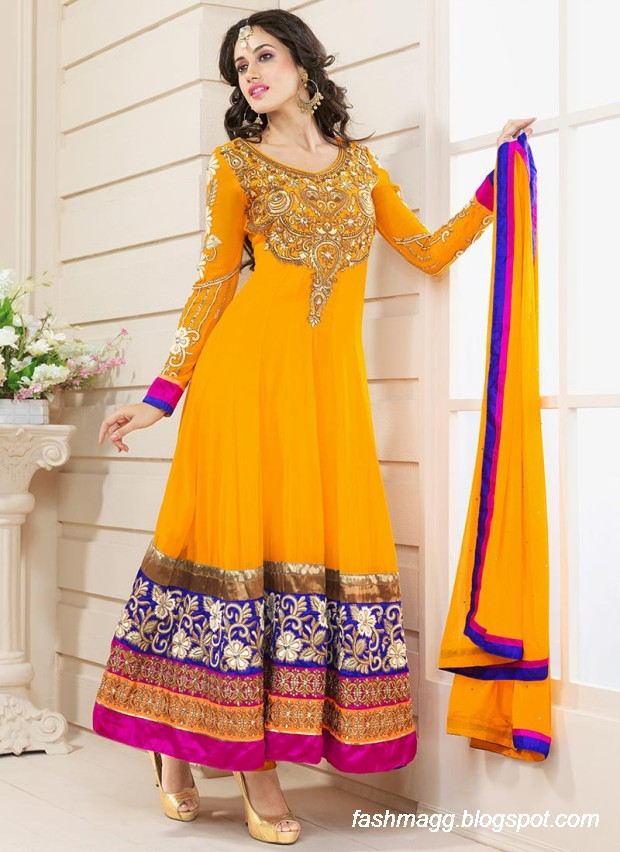 Anarkali-Umbrella-Wedding-Brides-Fancy-Party-Wear-Frocks-2013-Latest-Fashionable-Clothes-13